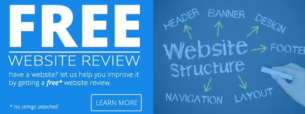 Free website review service
