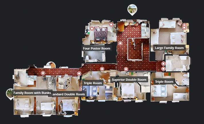 360 Degree Virtual Tour Floorplan
